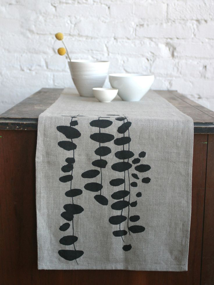 never understood what table runners are for, but I like this one!