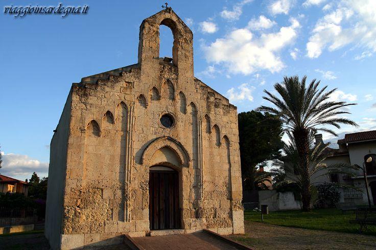 cagliari, chiesa romanica sant'alenixedda