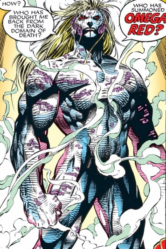 Omega Red. Rossovitch.
