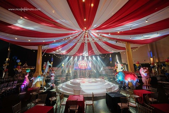 Vito S The Greatest Showman Themed Party Stage In 2019