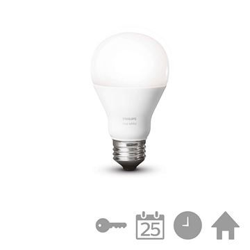 Bec LED Philips Hue, 9,5W E27 A60, White