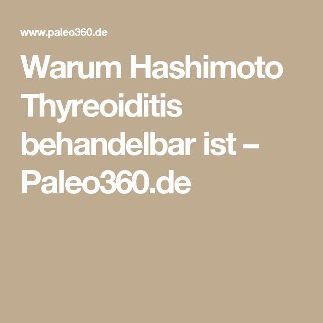 Warum Hashimoto Thyreoiditis behandelbar ist – Paleo360.de