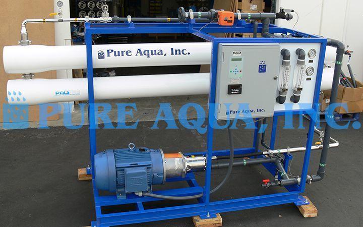 Industrial Seawater Ro System Swro 22 000 Gpd Uae System Reverse Osmosis Reverse Osmosis Water
