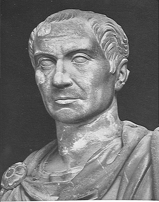 Gaius Cassius Longinus.  Is he your friend, or is he plotting to kill you?  Roman history is awesome