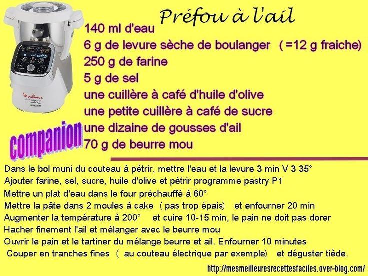 Bonne recette de préfou à l'ail (au companion... ou pas)