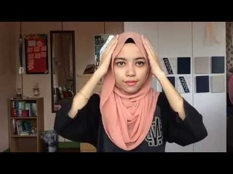 Loose Shawl Tutorial - YouTube