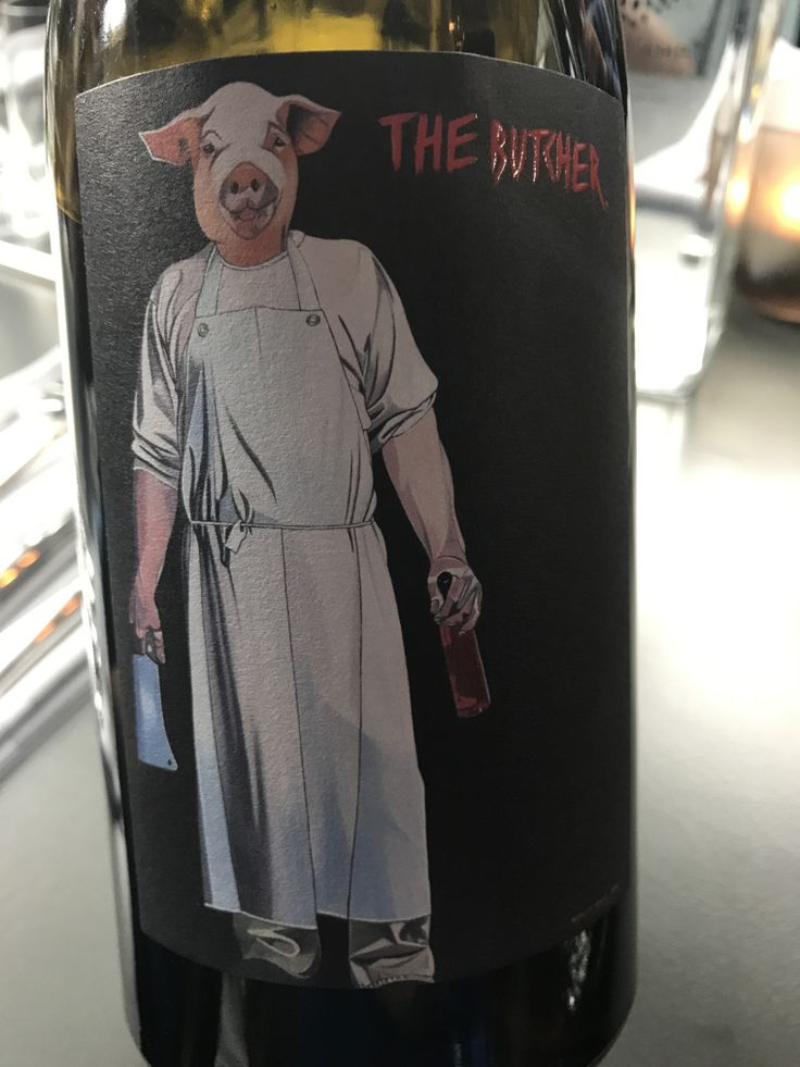 The Butcher 2013 Pinot Noir by Schwarz (Burgenland, Austria)