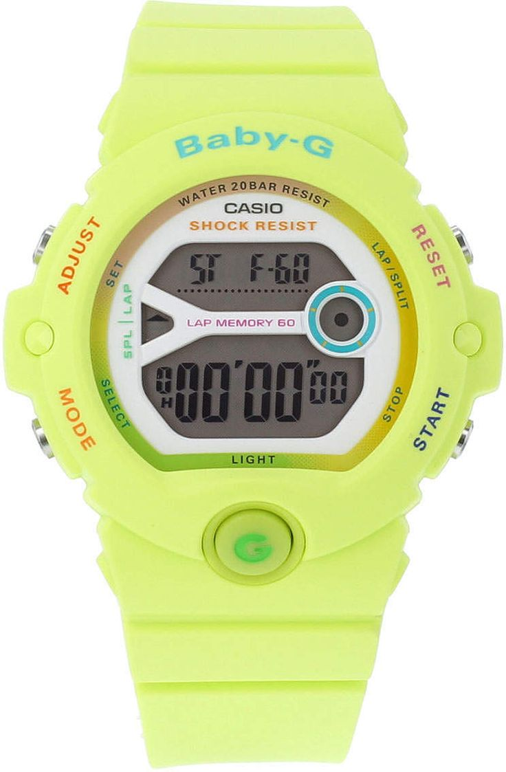Womens lime casio baby g lime green watch from Topshop - £80 at ClothingByColour.com
