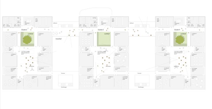 1st Prize: Grundriss 1. Obergeschoss, © h4a Architekten