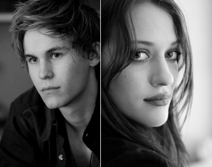 Annie and Finnick. Kat Dennings and Rhys Wakefield!