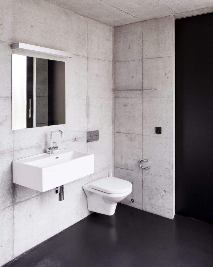 Minimalist. #bathroom #modernbathrooms