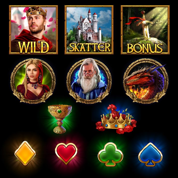 Camelot slot on Behance