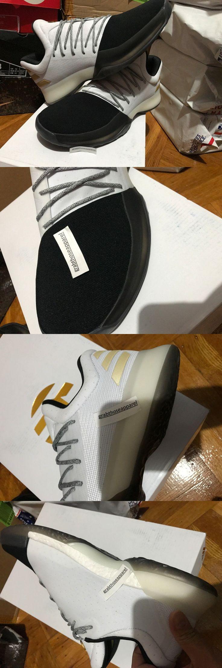 Men 158971: Adidas Originals Harden Vol 1 White Black Gold Bw0552 Men Size 8-13 100% Authent -> BUY IT NOW ONLY: $255 on eBay!