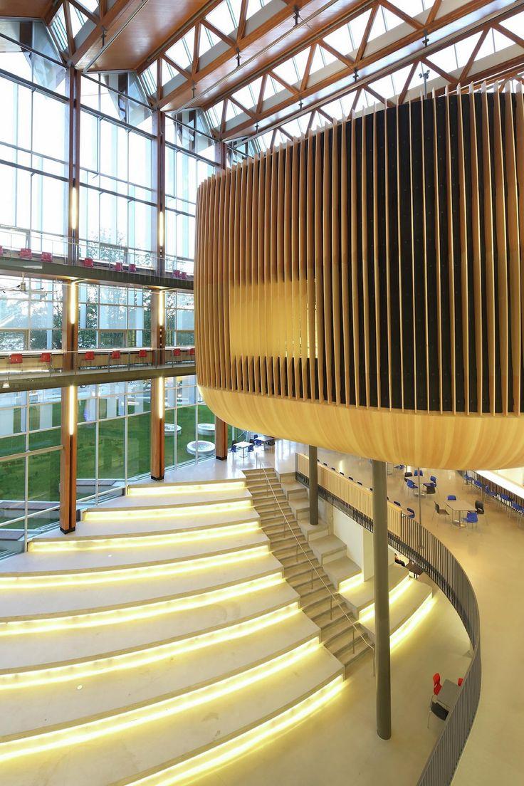加拿大不列颠哥伦比亚大学学生活动中心(AMS Nest) DIALOG + B+H Architects_建筑