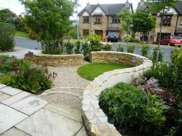 Perfect Den Garten mit Steinen gestalten Sch ne Gartengestaltungsideen