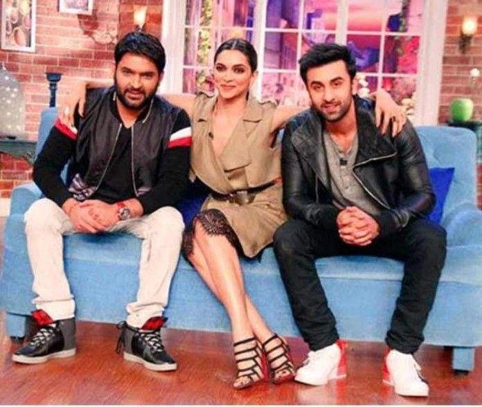 Deepika Padukone and Ranbir Kapoor create a laugh riot on Comedy Nights With Kapil!1