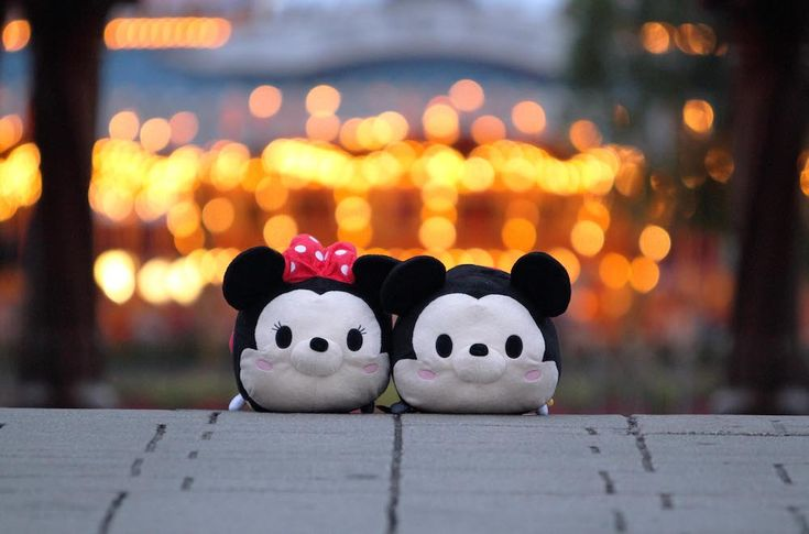 Zoom Around the Park with Tsum Tsum - Mickey and Minnie at Sleeping Beauty's Castle