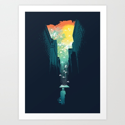 I Want My Blue Sky Art Print by Budi Satria Kwan - $19.97