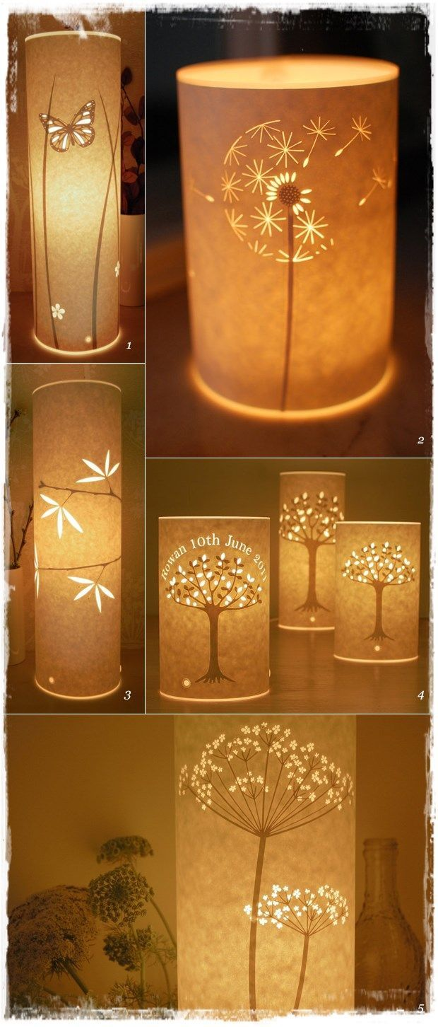 HOME DECOR DIY AND CRAFT MIRACLES: Beautiful Paper Lamps