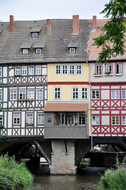 Erfurt, Germany -This was a very picturesque city. I would definitely recommend it. The Christmas market was great and I saw a lot of interesting architecture here. The cathedral is quite a sight to see and the view from the fort is amazing.