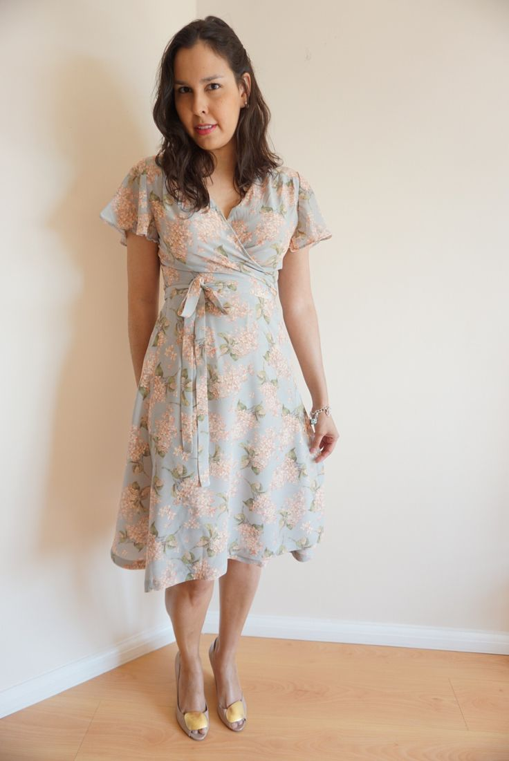 Sew Over It Eve Dress in beautiful silk | Sleepless in Bavaria
