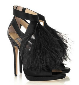 17 Best Images About Feather Shoes On Pinterest