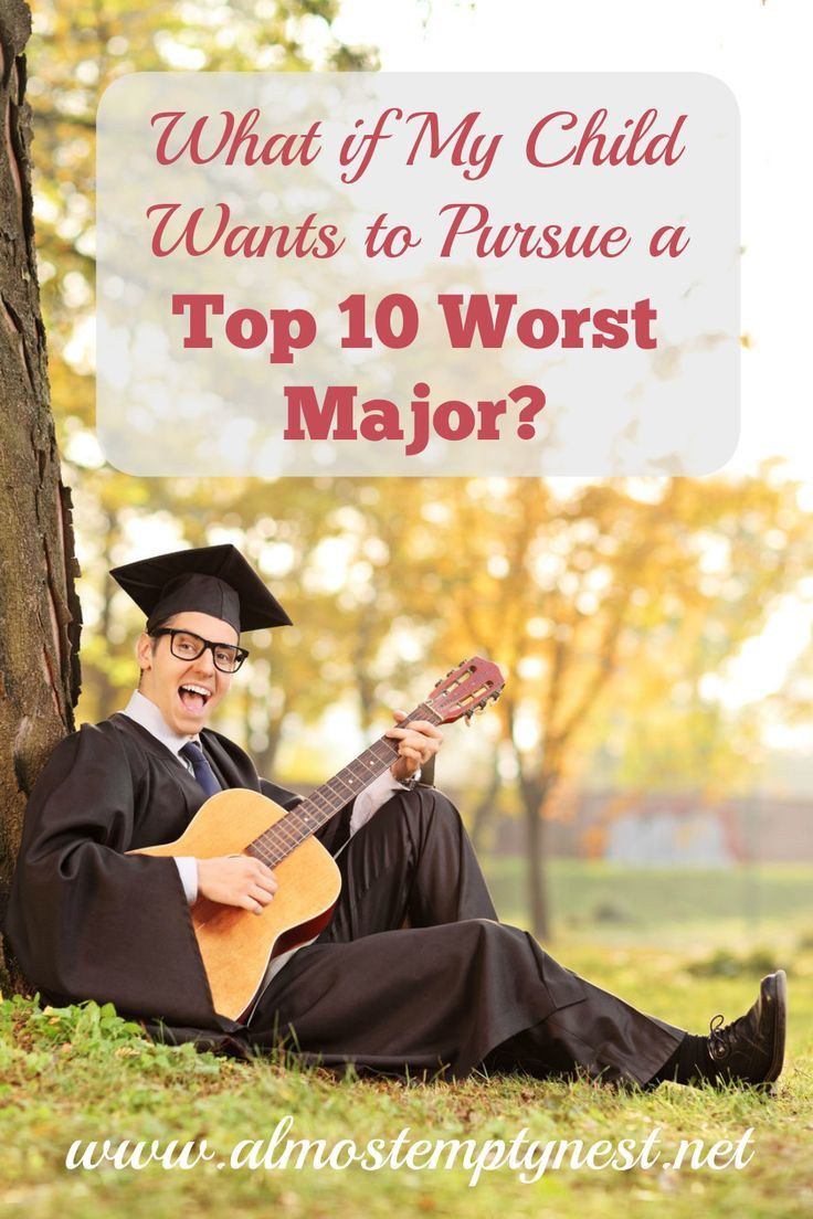 17 best ideas about college majors writers words top 10 worst college majors