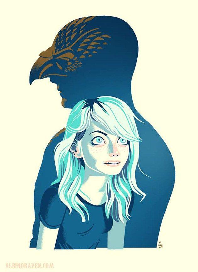 Birdman by Glen Brogan  #design #illustration
