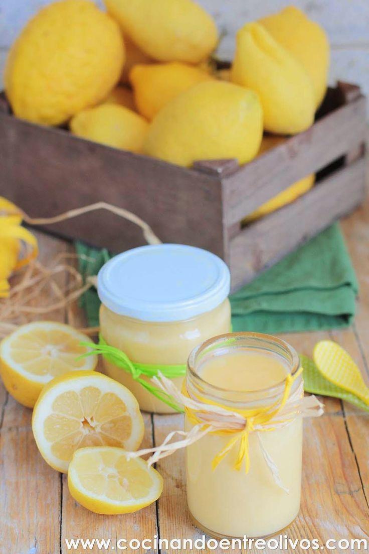 Crema de limón o Lemon Curd. Receta paso a paso.