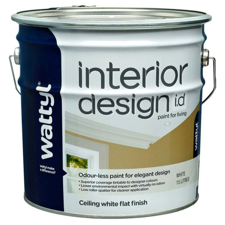 Wattyl Interior Design Ceiling White Flat Finish 15L - Masters Home Improvement - $160.00 @ Masters, $128.8 ($161) @ WTPC, $129.90 @ Paint Spot