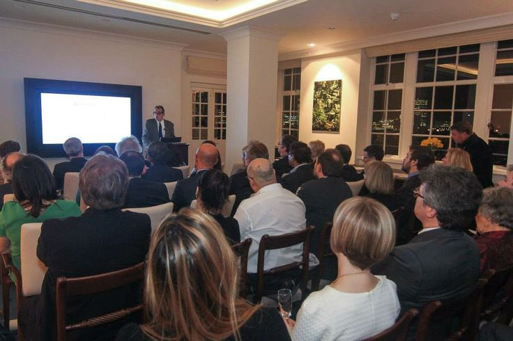 """The Water deficit: where and what can we do?"". Our partner 1001 fontaines has been the ""Charity of Choice"" of the Cornucopia Club in #London, thanks to #Prospero World. It was a great opportunity to share our project and to know more about water impact (with guest speaker Professor Ghislain de Marsily and conversation led by Theodore Zeldin). #GenerationGenerous"