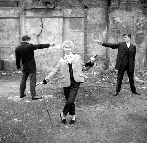 "'Ken Russel's series of documentary ""Teddy Girl""  c.1955"