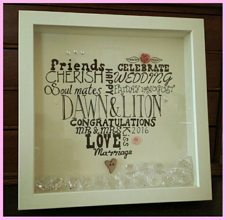 Hand crafted personalised wedding gift #handmadecrafts #weddingcrafts #weddinggifts