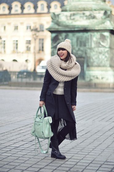 Winter Biker (by Valentine Hello) http://lookbook.nu/look/4321909-Winter-Biker