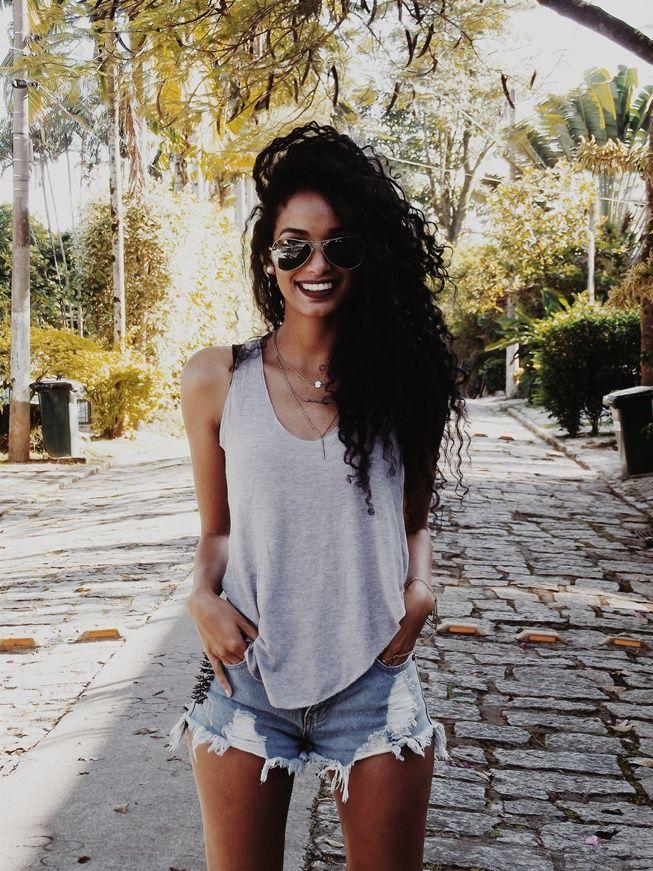 Finíssimas Fashion: Look do dia: Brazilian LifeStyle!