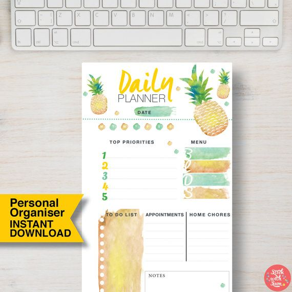 Best Personal Size Planner Printables Images On