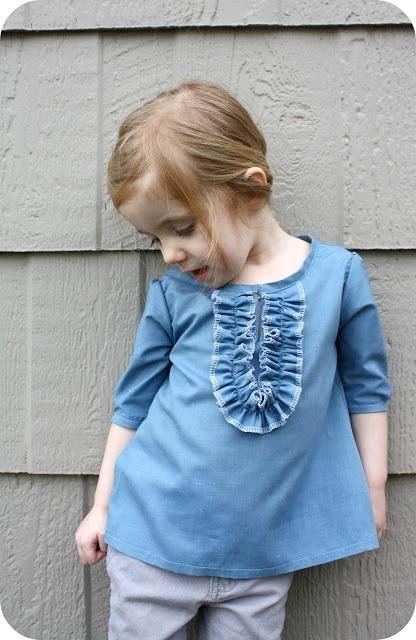 DIY Kid Clothes Refashion: DIY the Elinor top diy fashion diy refashion diy clothes diy ideas diy crafts diy kids diy sewing diy shirt