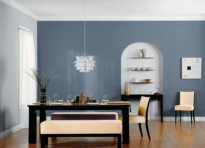 This Is The Project I Created On Behr Com I Used These Colors Bleached Denim 560f 5 Windsor
