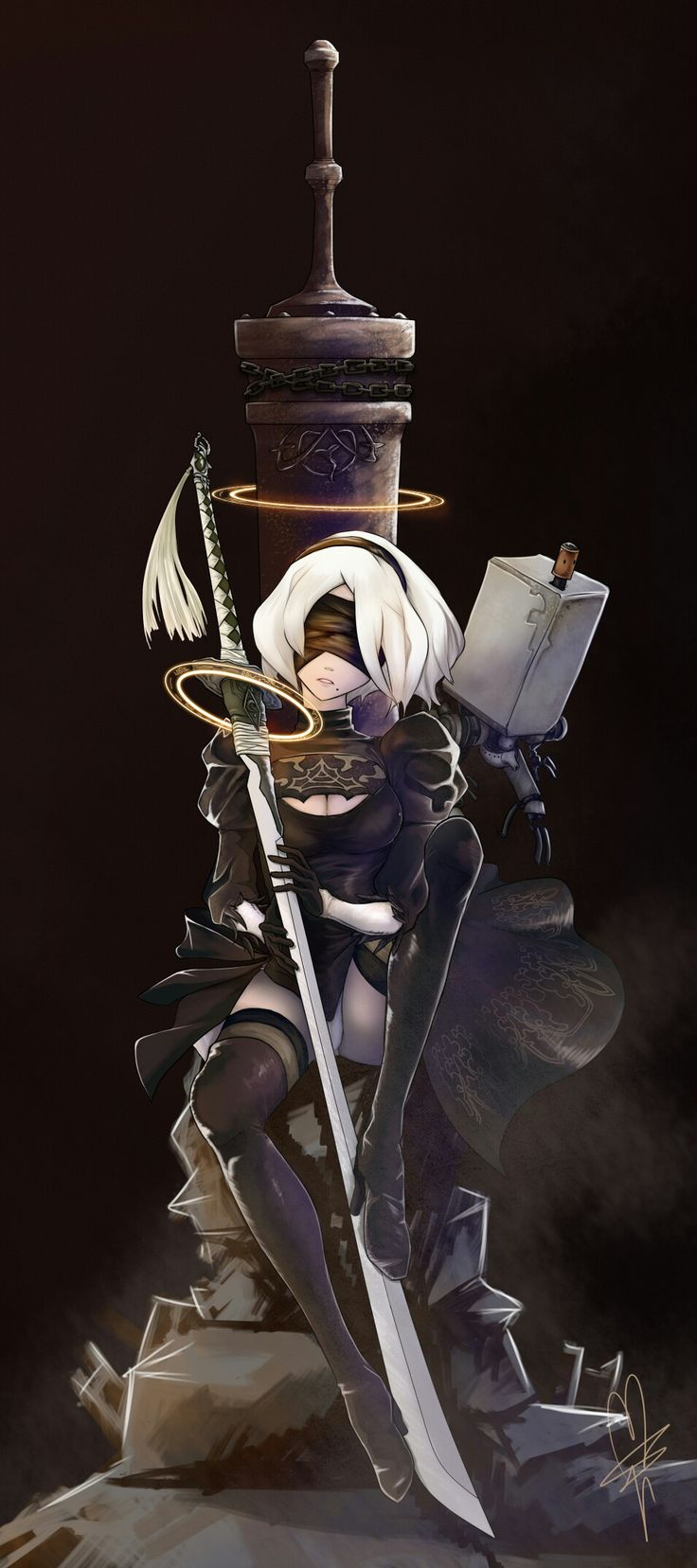 Character Design Nier Automata : Best nier b images on pinterest videogames video