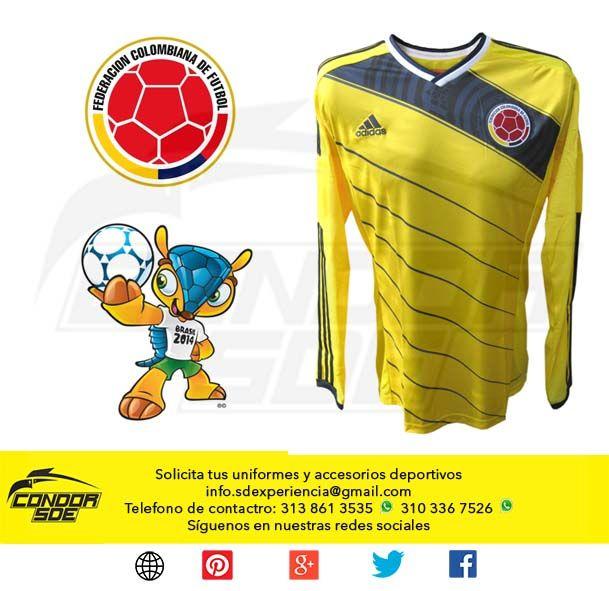 Gran promoción camisa selección Colombia original Adidas 2014  25% DESCUENTO, pregunta como puedes adquirirla. #accesorios #ropadeportiva #uniformesdeportivos #guayos #tenis #sudaderas #indumentaria #deportes
