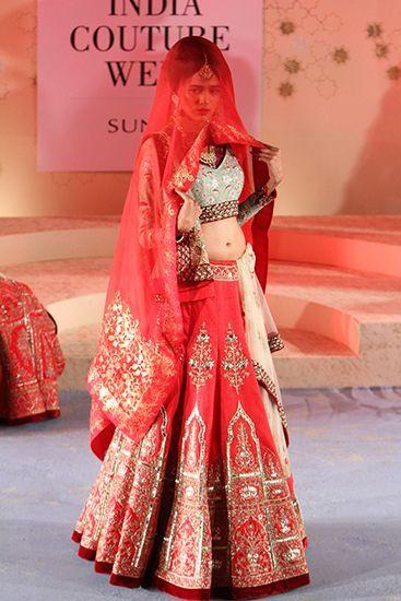 Best Bridal Lehenga's from Amazon India Fashion Week