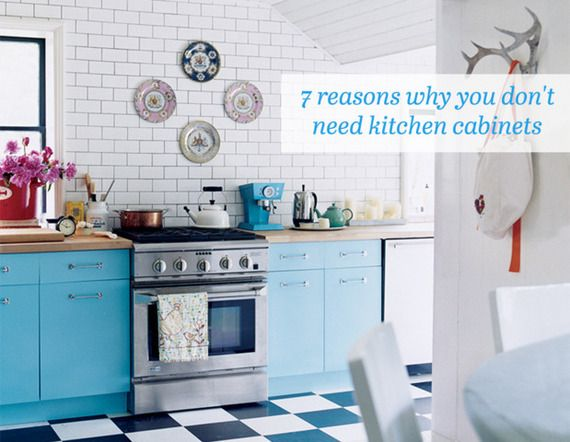 Why You Dont Need Kitchen Cabinets