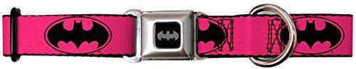 """Pink Batman Seat Seat Belt Buckle Dog Collar 1"""" x 9-15"""" B... https://www.amazon.com/dp/B013J6GSWU/ref=cm_sw_r_pi_awdb_x_kammybJYEDZYT"""