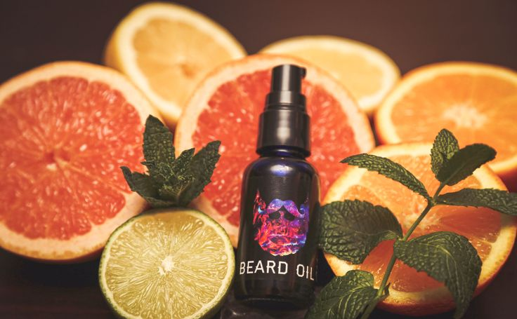 Peppermint Citrus Beard Oil UniversalBeard.Co