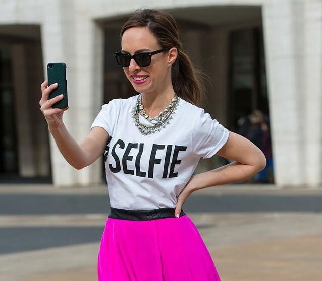 #NYFW #fashion #streetstyle #style #AW14 #selfie
