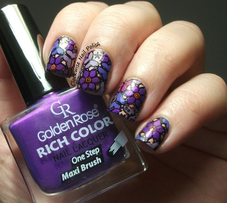 The 98 best Dashica Infinity - Stamping Nail images on Pinterest ...