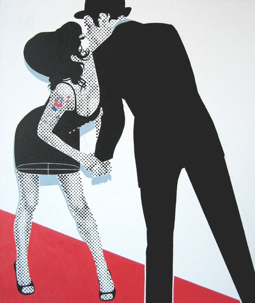 Gerald Laing - The Kiss (Amy Winehouse)