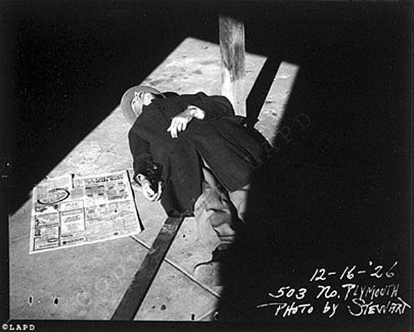 #ブラックダリア事件 ・玉ねぎ畑殺人事件など 1900年代前半に起きた殺人・重犯罪事件の現場・被害者写真を #ロサンゼルス市警 が公開 - #LAPD #BlackDahlia