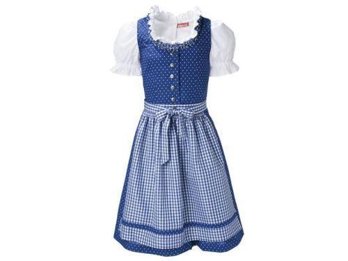 NEW ^German^^Austrian^ Girls 3 pc. Dirndl Dress   11-12  T years #Pepperts #Dirndl
