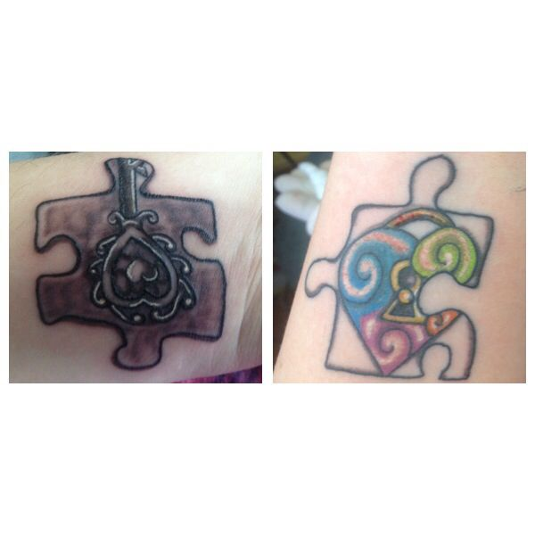 17 Best Images About Puzzle Pieces Tattoos On Pinterest: 17 Best Images About Tattoos